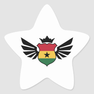 Ghana soccer star sticker