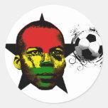 Ghana Soccer Sticker