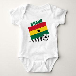 Ghana Soccer Team Baby Bodysuit