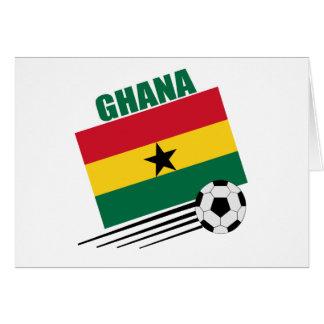 Ghana Soccer Team Card
