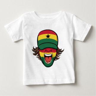 Ghana Sports Fan Baby T-Shirt