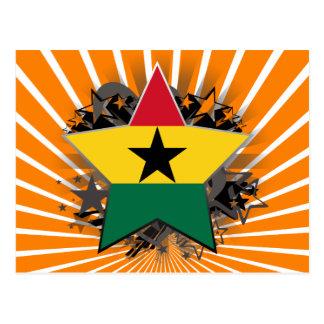 Ghana Star Postcard