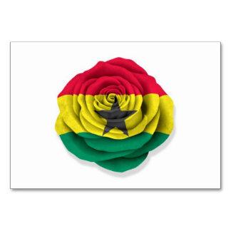 Ghana subió la bandera en blanco