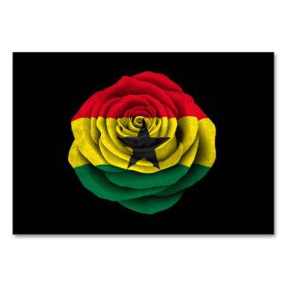 Ghana subió la bandera en negro