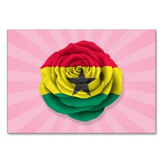 Ghana subió la bandera en rosa