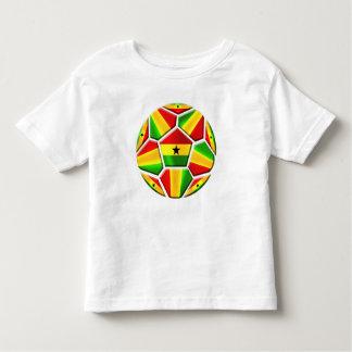 Ghana The Black Stars soccer ball Ghanaian flags Tee Shirt