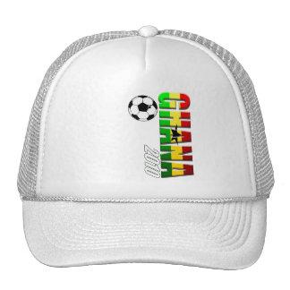 Ghana vertical soccer logo flag of Ghana Trucker Hat