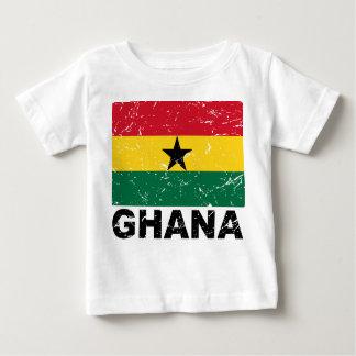 Ghana Vintage Flag Baby T-Shirt