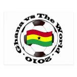 Ghana vs The World Post Card
