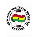 Ghana vs The World Post Cards