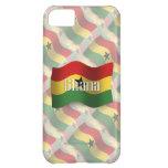 Ghana Waving Flag Case For iPhone 5C