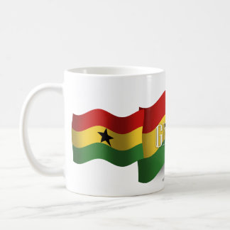 Ghana Waving Flag Coffee Mug