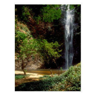 Ghana: Wli Falls, a.k.a. Agumatsa Falls (Volta Postcard