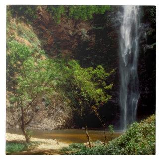 Ghana: Wli Falls, a.k.a. Agumatsa Falls (Volta Tile