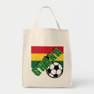 GHANA World Soccer Fan Tshirts Tote Bag