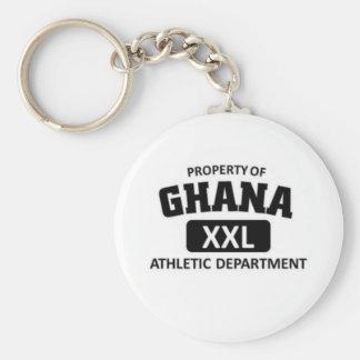 Ghana xxl athletic department basic round button keychain