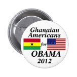 Ghanaian Americans for Obama Pinback Button