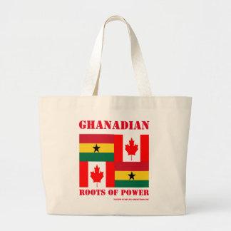 GHANAIAN-CANADIAN LARGE TOTE BAG