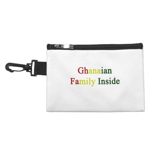 Ghanaian Family Inside Accessories Bag