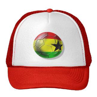 Ghanaian flag of Ghana Soccer ball for fans Trucker Hat