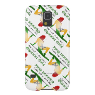 Ghanaian Girl Silhouette Flag Case For Galaxy S5