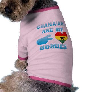 Ghanaians are my Homies Doggie T Shirt