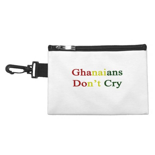 Ghanaians Don't Cry Accessories Bag