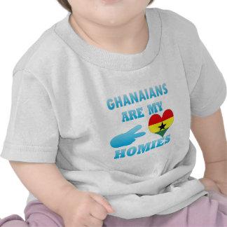 Ghanaians es mi Homies Camiseta