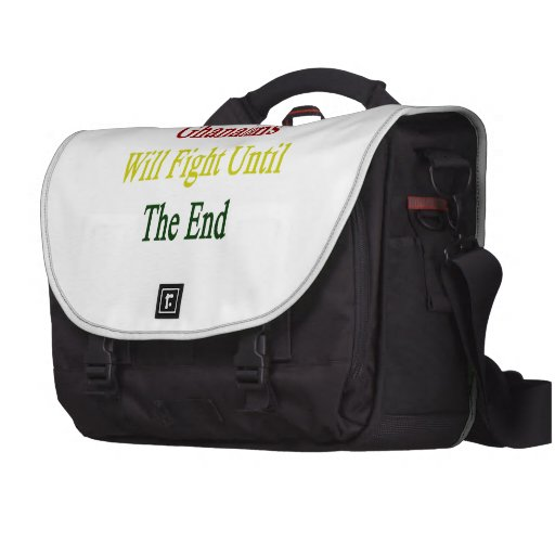 Ghanaians Will Fight Until The End Laptop Commuter Bag