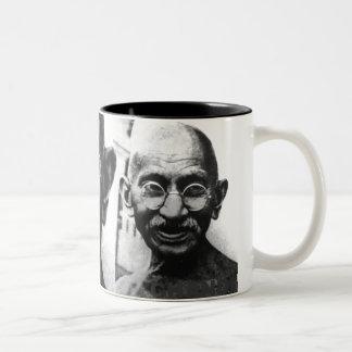 GHANDI, GHANDI Two-Tone COFFEE MUG