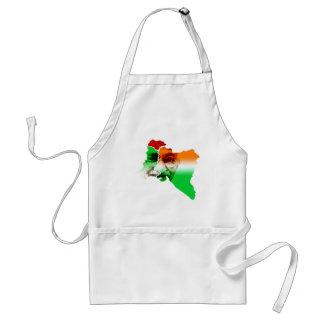 ghandi-on-india-and-pakistan-border adult apron