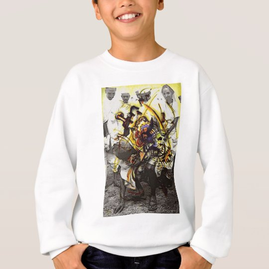 GHANDI ~ THE POWER FROM WITHIN TO ENLIGHTEN A NATI SWEATSHIRT