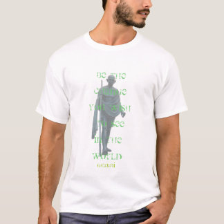 ghandi words (black) T-Shirt