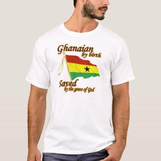 Ghanés por el nacimiento ahorrado por la gracia de playera