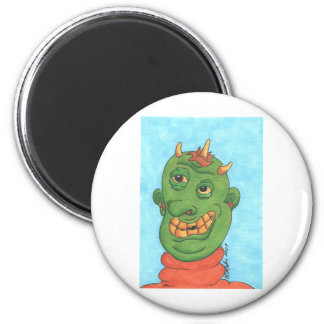 Ghastly Ghoul 2 Inch Round Magnet