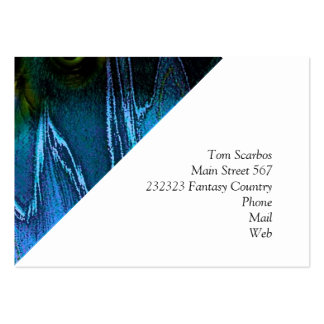 Ghastly Ghoul Large Business Cards (Pack Of 100)