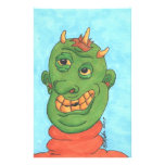 Ghastly Ghoul Personalized Stationery