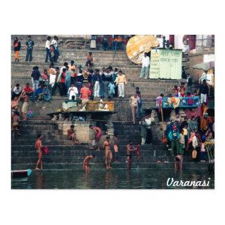 Ghats de Varanasi, postal