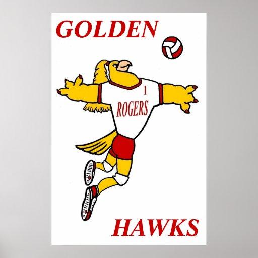 GHawk Volleyball Poster
