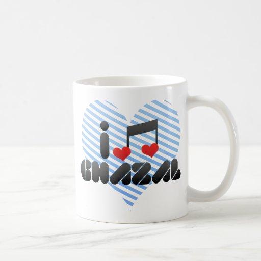 Ghazal fan classic white coffee mug