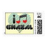 Ghazal fan postage stamps
