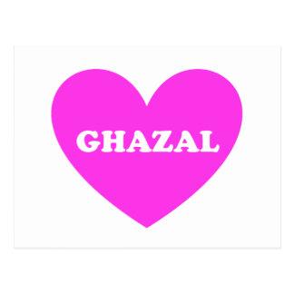 Ghazal Postcard