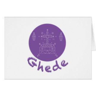 Ghede Samedi Veve Greeting Card