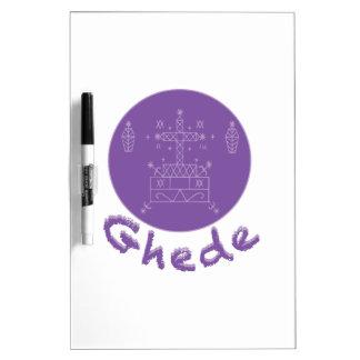 Ghede Samedi Veve Dry-Erase Board