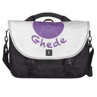 Ghede Samedi Veve Laptop Messenger Bag