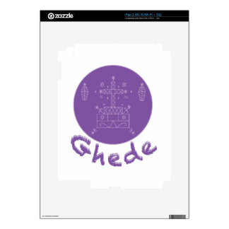 Ghede Samedi Veve Decals For The iPad 2