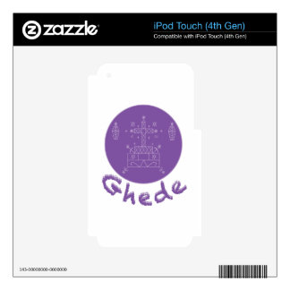 Ghede Samedi Veve Skin For iPod Touch 4G