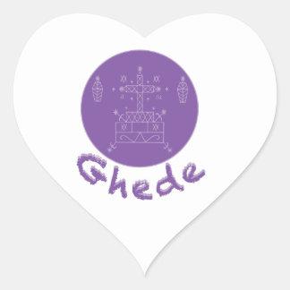 Ghede Samedi Veve Heart Sticker