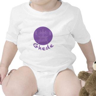 Ghede Samedi Veve Baby Bodysuit
