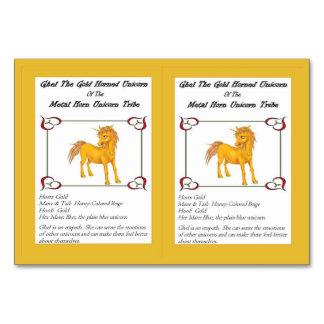 Ghel The Gold-Horned Unicorn Trading Card